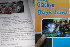10 Tulisan dan gambar absurd di buku pelajaran sekolah, nyeleneh