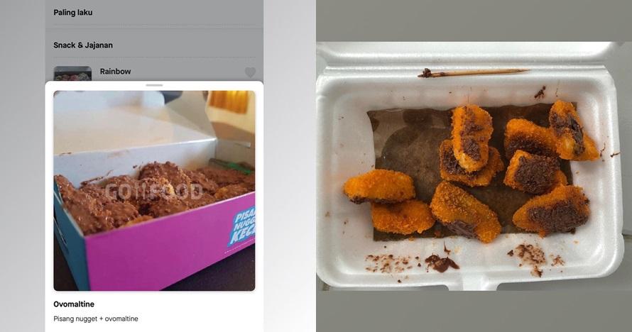 momen absurd pesan makan via ojek online © berbagai sumber