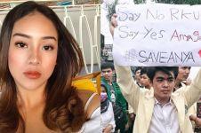 Reaksi 3 seleb saat namanya jadi poster demonstrasi mahasiswa
