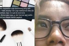 Antimainstream, cewek ini review ketahanan makeup saat ikut demo