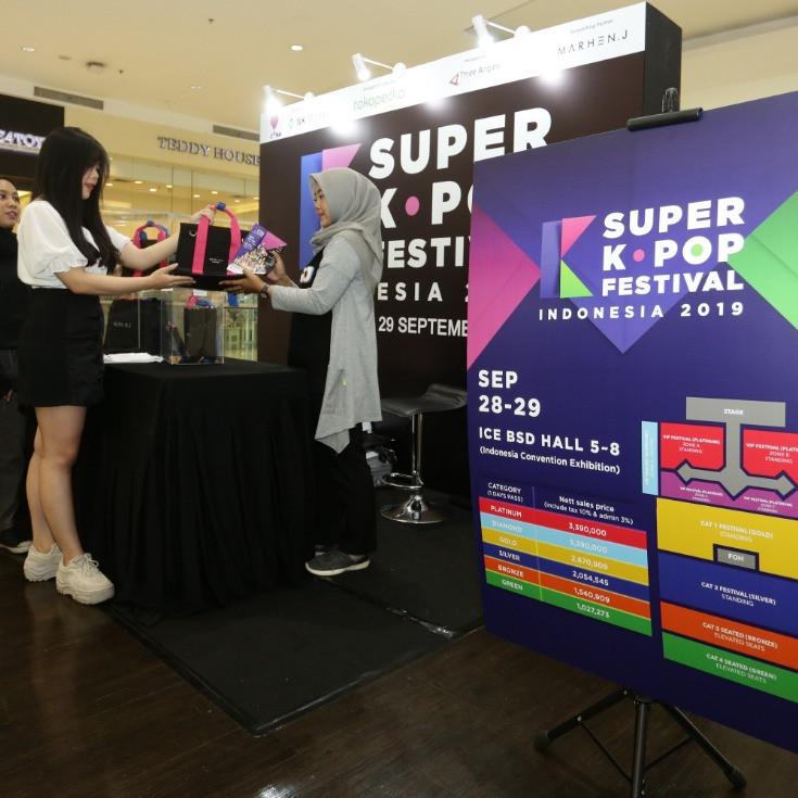 Hadirkan 11 bintang K-Pop, Super K-pop Festival 2019 siap digelar © 2019 brilio.net