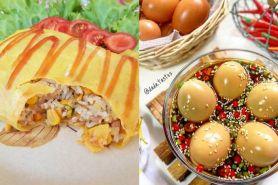 20 Resep olahan telur lezat, sederhana, enak dan cepat