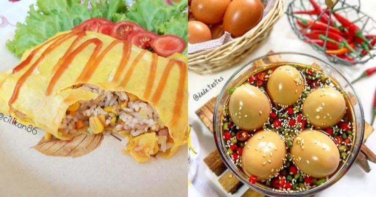 20 Resep Olahan Telur Lezat Sederhana Enak Dan Cepat