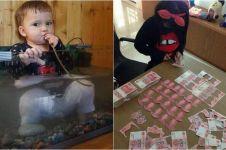 15 Kelakuan anak yang bikin pusing orangtua ini bikin tepuk jidat