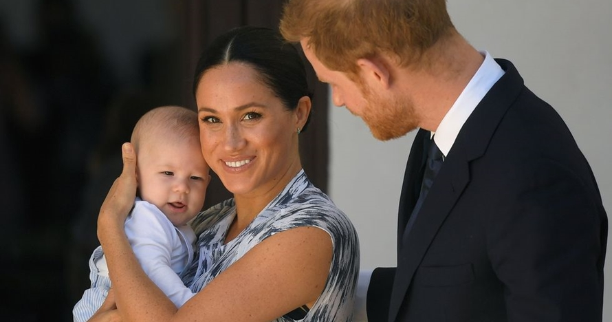 Tur ke Afrika, potret baby Archie anak Pangeran Harry curi perhatian