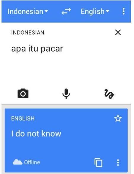 Terjemahan Google Translate Indonesia Inggris © 2019 berbagai sumber