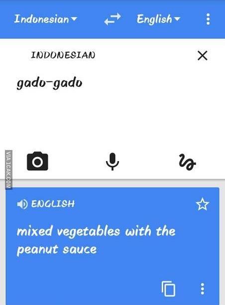 13 Terjemahan lucu Google Translate Indonesia-Inggris ini ...