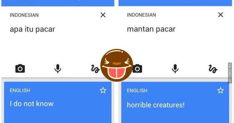13 Terjemahan lucu Google Translate Indonesia-Inggris ini nyeleneh