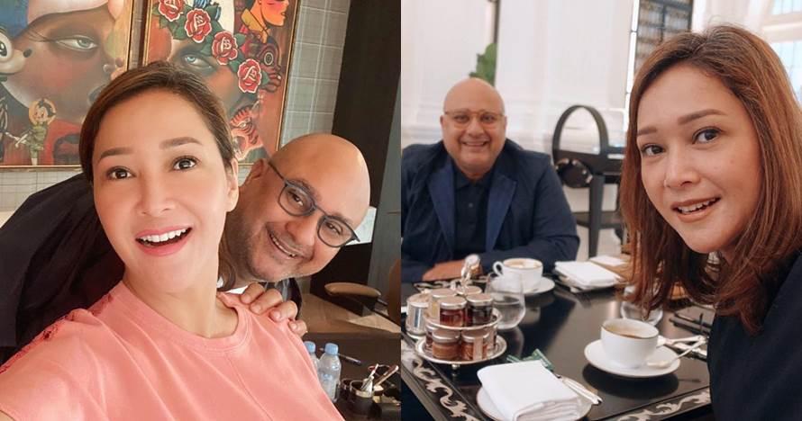 Umrah bareng Irwan Mussry, penampilan Maia Estianty curi perhatian