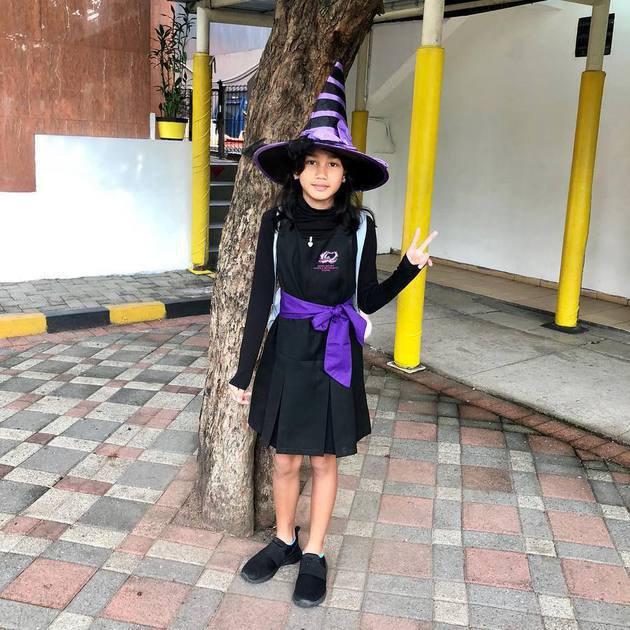 9 Pesona Naima Malinka, putri Nova Eliza manis dan bertalenta. Instagram/@novaelizastory