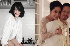 Momen pelukan mesra Lulu Tobing & suami usai nikah, curi perhatian