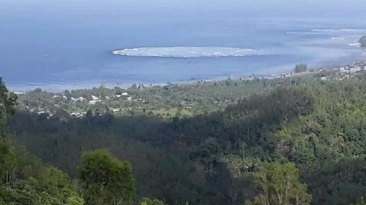 Fenomena alam aneh usai gempa Ambon, air laut seperti mendidih