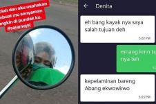 10 Gombalan lucu driver ojek online dan penumpang, bikin kegeeran