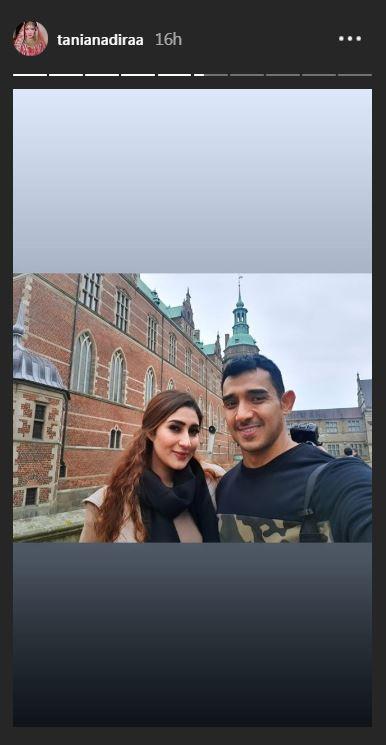 Tania Nadira di Denmark  Instagram