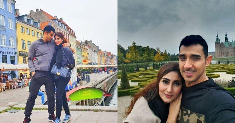 9 Potret bulan madu Tania Nadira & Abdulla Alwi di Denmark