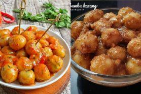 22 Resep cilok dan sambal kacang enak, empuk, dan mudah dibuat