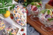 8 Cara membuat salad buah enak, sederhana, praktis dan sehat