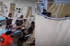Viral video polisi pukuli mahasiswa di RS, ini fakta sebenarnya