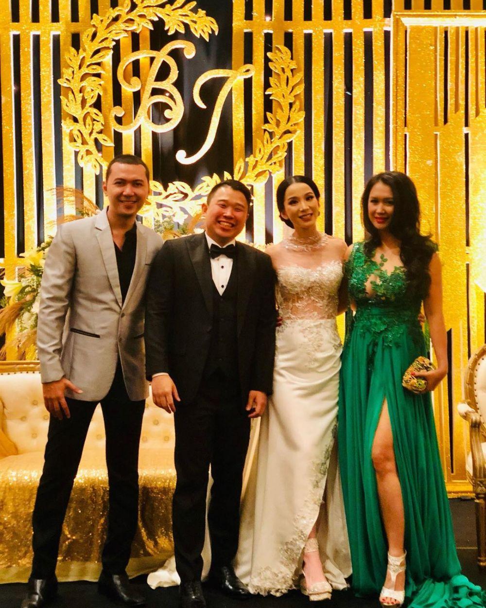 Momen pernikahan kedua Jill Gladys dan Billy Soelaiman   Instagram