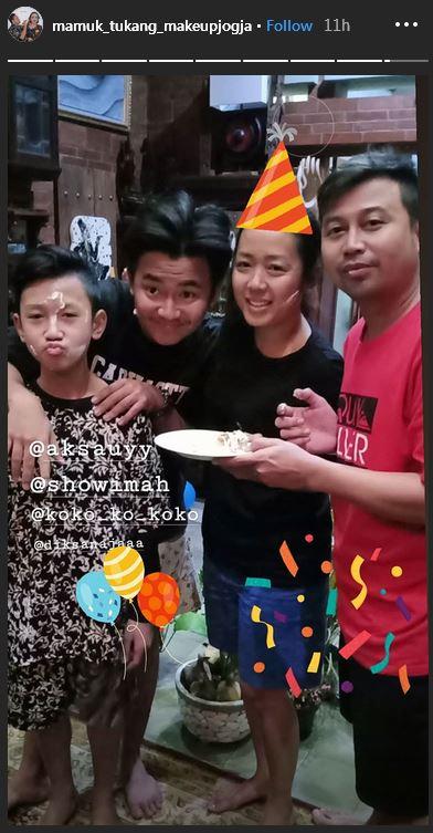 Soimah ulang tahun  © 2019 Instagram