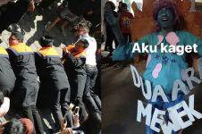 8 Momen kocak perayaan wisuda Itenas ini antimainstream banget
