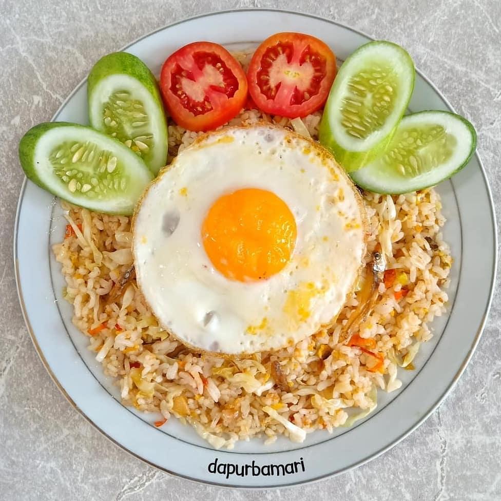 Nasi goreng sederhana sedap makan instagram