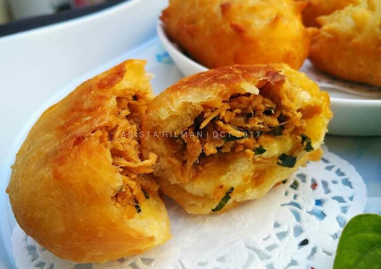 Cara membuat donat kentang empuk istimewa