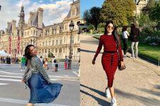 7 Momen Five Vi liburan di Prancis, kunjungi restoran mewah