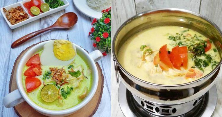 10 Resep soto ayam santan paling gurih, praktis dan istimewa