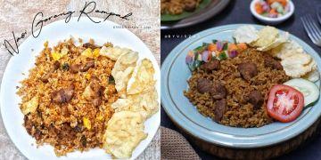 10 Resep nasi goreng kambing, enak, sederhana & bikin nagih