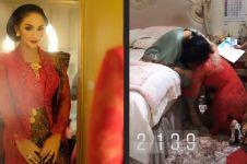 Momen Krisdayanti sungkem sang ibu usai dilantik anggota DPR, haru