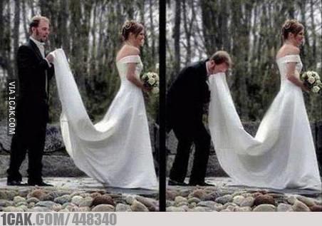 Momen tak terduga di pernikahan © 2019 1cak.com