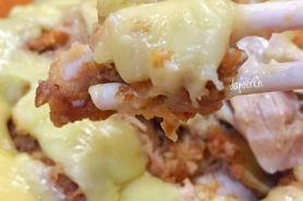5 Resep ayam geprek mozarella mudah dibuat, enak dan sederhana