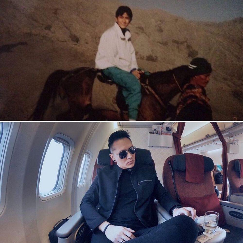 Potret masa muda pesulap Tanah Air Instagram