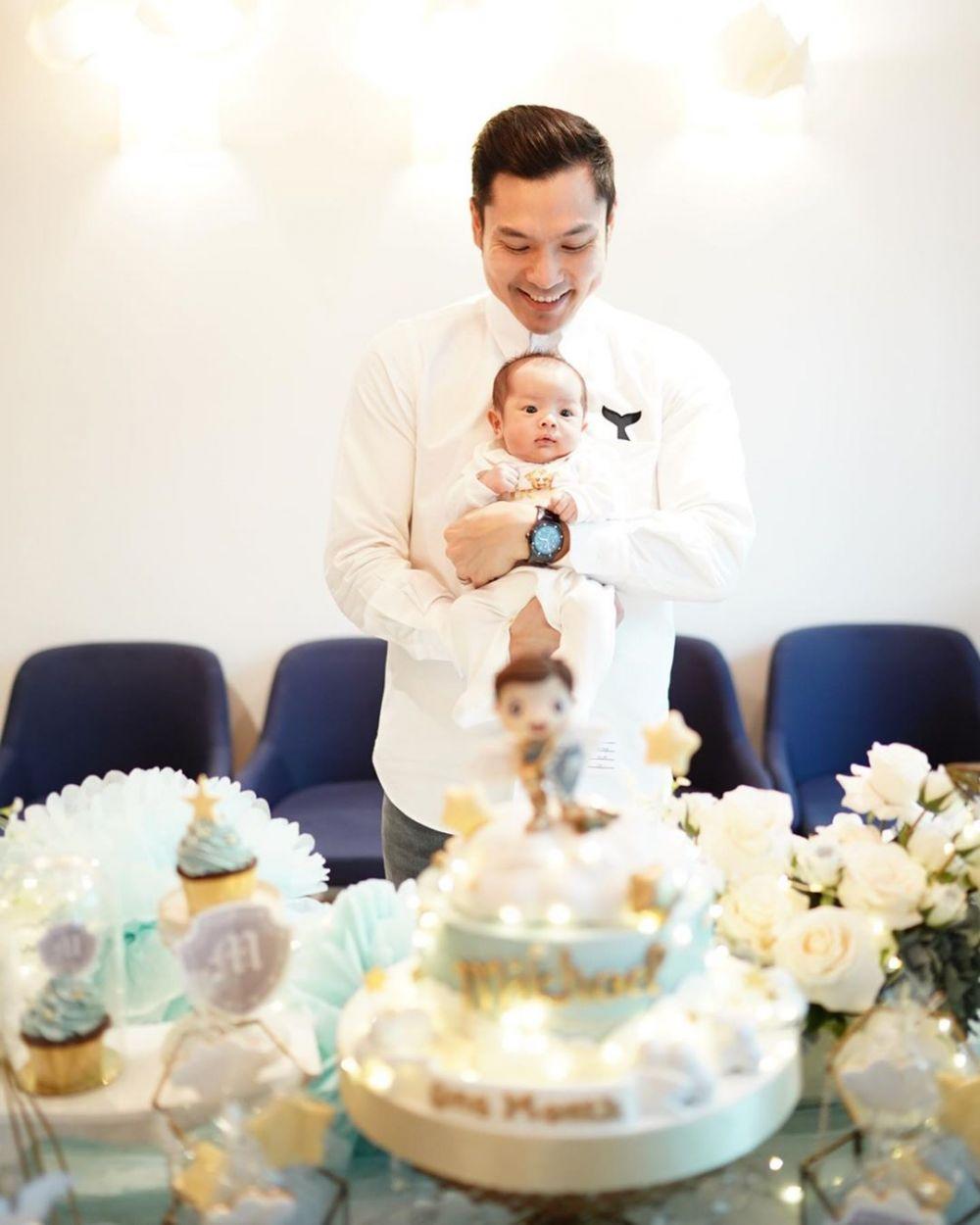 Momen ulang bulan anak kedua Sandra Dewi Instagram