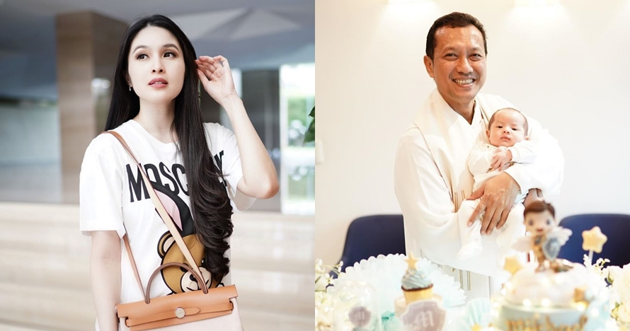 Berusia sebulan, ini 10 momen syukuran anak kedua Sandra Dewi