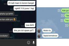 10 Chat ke teman ini ujungnya bikin ketawa kesal