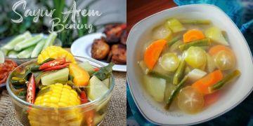 10 Resep sayur asem sederhana, enak, segar dan mudah dibuat
