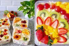 10 Cara membuat salad buah untuk diet, enak, sehat dan simpel