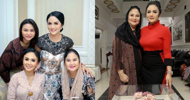 10 Potret ibunda Krisdayanti, tetap awet muda di usia 69 tahun