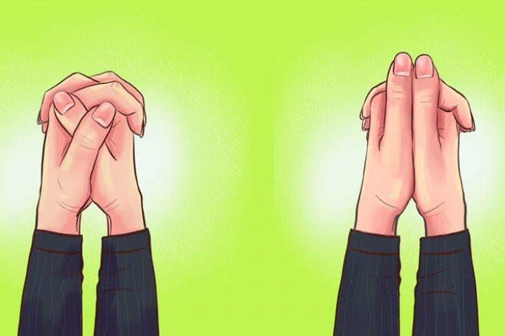 Cara kamu menyilangkan jari bisa ungkap karakter aslimu