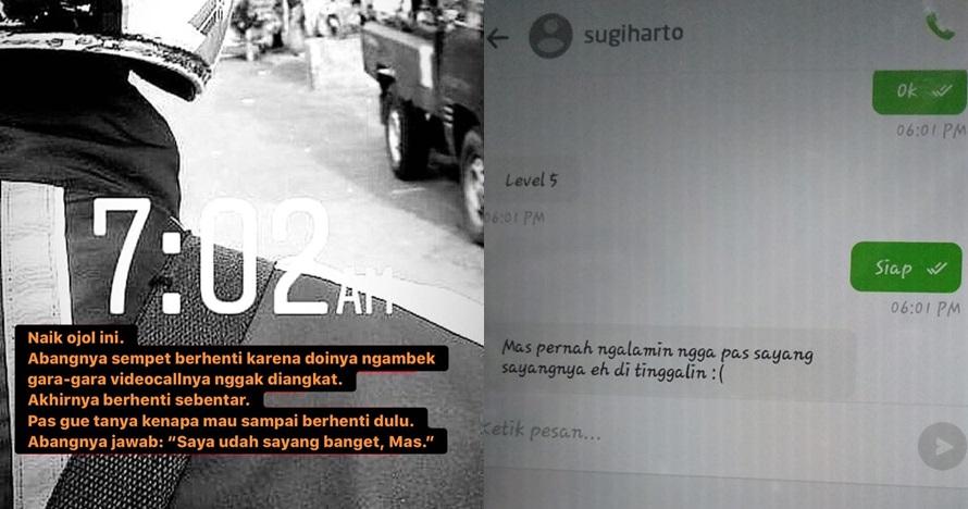 11 Momen driver ojek online curhat soal cinta ke penumpang, kocak