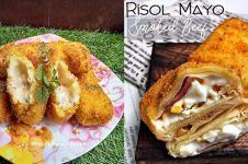 12 Resep risol mayones, enak, sederhana, gurih dan mudah dibuat