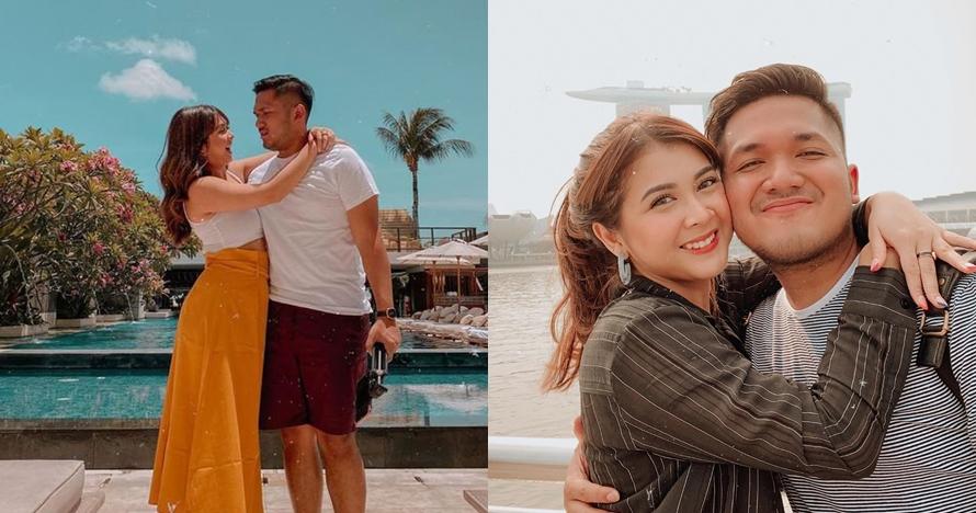 7 Potret liburan Kesha Ratuliu & pacar di Bali, mesra bak prewed
