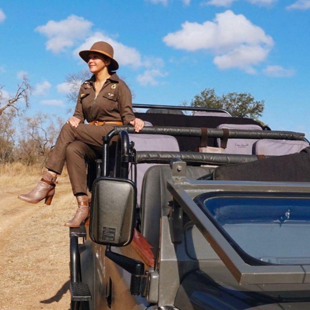 Maia Estianty di Afrika  Instagram