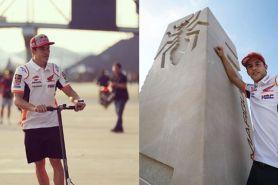 Alami kecelakaan di MotoGP Thailand, ini kata Marc Marquez