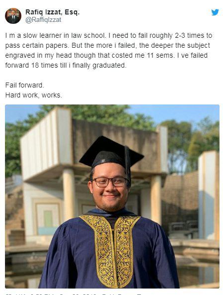 mahasiswa lulus gagal 18 kali © 2019 brilio.net