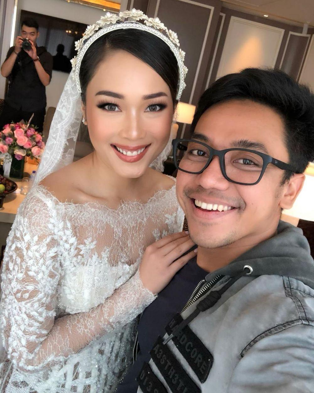 Potret pernikahan Ayla Dimitri dan Rama Devara Instagram