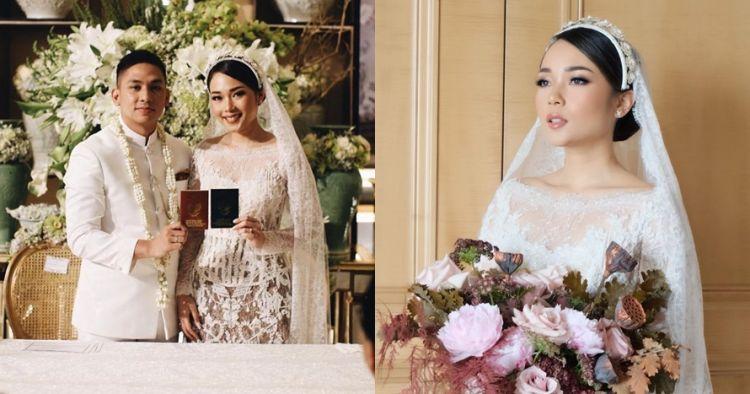 10 Potret pernikahan Ayla Dimitri dan Rama Devara, meriah abis