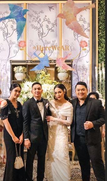 Gaya seleb di pernikahan Ayla Dimitri Rama Devara © 2019 instagram.com